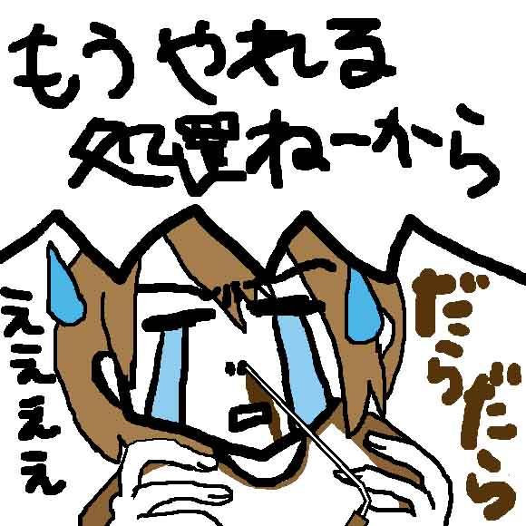 季節性アレルギー性鼻炎を発症すると、何故か止まらなくなる私の鼻血_挿絵1