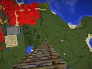 空に浮かぶ謎の星を調査(第8話):Minecraft_挿絵30