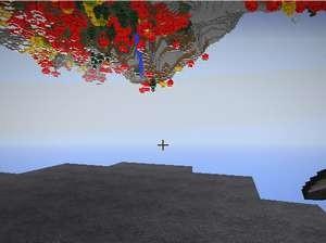 空に浮かぶ謎の星を調査(第8話):Minecraft_挿絵8