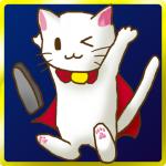 Android用ゲームアプリ:進撃の白猫~白猫妖精マイケルの不思議な石版~_アイコン