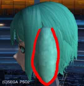 PSO2における蘭丸髪型(?)の作り方_挿絵7