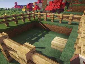 温かいベッドがある家、プライスレス(第7話):Minecraft_挿絵4