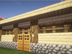 温かいベッドがある家、プライスレス(第7話):Minecraft_挿絵16