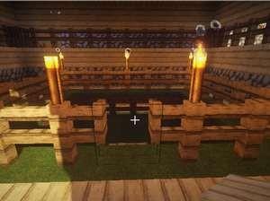 温かいベッドがある家、プライスレス(第7話):Minecraft_挿絵18