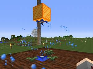 Magical Cropsで枯渇資源を作物化するための準備をする(第11話):Minecraft_挿絵7