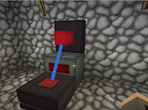 テレポートパイプ(Additional Pipes)を使ってアイテムを異次元輸送(第20話):Minecraft_挿絵5