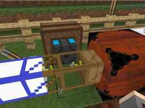 テレポートパイプ(Additional Pipes)を使ってアイテムを異次元輸送(第20話):Minecraft_挿絵15