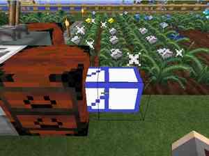 テレポートパイプ(Additional Pipes)を使ってアイテムを異次元輸送(第20話):Minecraft_挿絵14