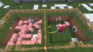 LightとDarkのエネルギーを生み出すための装置を作成(第40話):Minecraft_挿絵30