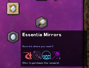 ThaumcraftのMagic Mirrorはファンタジックなテレポートパイプ(第64話):Minecraft_挿絵12