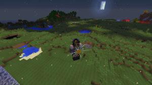 Thaumcraftの魔法具で空を飛んだり自動掘削させたり!?(第65話):Minecraft_挿絵9