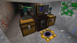 Thaumcraftの魔法具で空を飛んだり自動掘削させたり!?(第65話):Minecraft_挿絵21