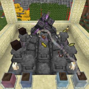 Thaumcraftの魔法具で空を飛んだり自動掘削させたり!?(第65話):Minecraft_挿絵7