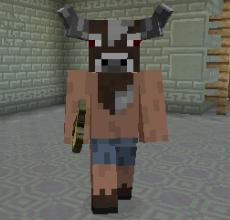 キノコとウシの不思議なラビリンス(第72話):Minecraft_挿絵22