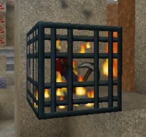 ラビリンスと亡霊鉱山と迷宮に入る前から迷い黄昏る私(第71話):Minecraft_挿絵16