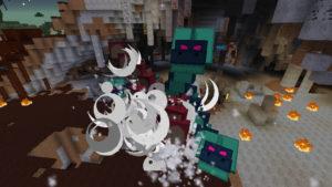 緊急指令!焼け沼に住む多頭の怪物ヒドラを討伐せよ!(第73話):Minecraft_挿絵7