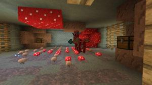 キノコとウシの不思議なラビリンス(第72話):Minecraft_挿絵28
