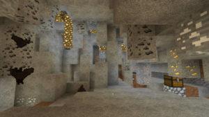 ラビリンスと亡霊鉱山と迷宮に入る前から迷い黄昏る私(第71話):Minecraft_挿絵8