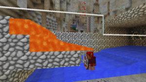 ラビリンスと亡霊鉱山と迷宮に入る前から迷い黄昏る私(第71話):Minecraft_挿絵18