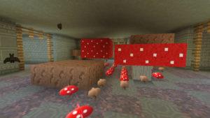 キノコとウシの不思議なラビリンス(第72話):Minecraft_挿絵27