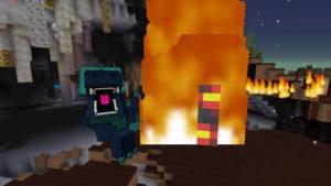 緊急指令!焼け沼に住む多頭の怪物ヒドラを討伐せよ!(第73話):Minecraft_挿絵5