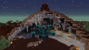 緊急指令!焼け沼に住む多頭の怪物ヒドラを討伐せよ!(第73話):Minecraft_挿絵6