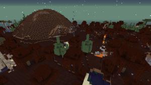 緊急指令!焼け沼に住む多頭の怪物ヒドラを討伐せよ!(第73話):Minecraft_挿絵3