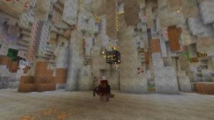 ラビリンスと亡霊鉱山と迷宮に入る前から迷い黄昏る私(第71話):Minecraft_挿絵17