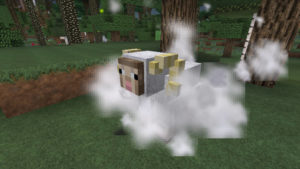 キノコとウシの不思議なラビリンス(第72話):Minecraft_挿絵7