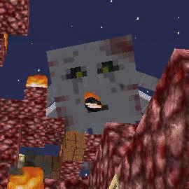 闇の森の葉っぱは強い湿り気を帯びていた(第74話):Minecraft_挿絵25