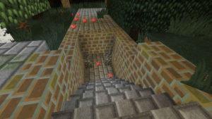 闇の森の葉っぱは強い湿り気を帯びていた(第74話):Minecraft_挿絵7