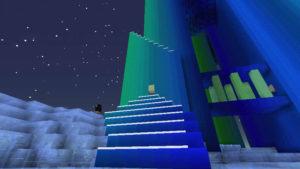 雪の森で防寒装備を整え、雪の女王が住まうオーロラ宮殿へ!(第75話):Minecraft_挿絵14