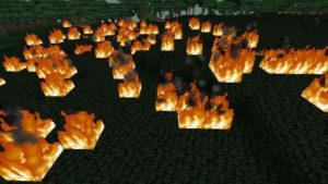 闇の森の葉っぱは強い湿り気を帯びていた(第74話):Minecraft_挿絵4