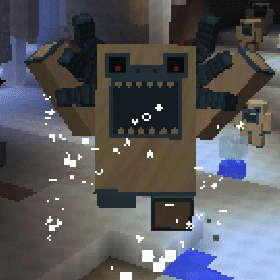 雪の森で防寒装備を整え、雪の女王が住まうオーロラ宮殿へ!(第75話):Minecraft_挿絵6