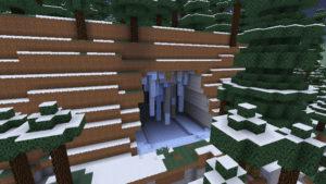 雪の森で防寒装備を整え、雪の女王が住まうオーロラ宮殿へ!(第75話):Minecraft_挿絵4