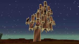 闇の森の葉っぱは強い湿り気を帯びていた(第74話):Minecraft_挿絵19