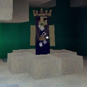 雪の森で防寒装備を整え、雪の女王が住まうオーロラ宮殿へ!(第75話):Minecraft_挿絵21