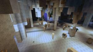 雪の森で防寒装備を整え、雪の女王が住まうオーロラ宮殿へ!(第75話):Minecraft_挿絵5