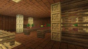 闇の森の葉っぱは強い湿り気を帯びていた(第74話):Minecraft_挿絵21