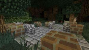 闇の森の葉っぱは強い湿り気を帯びていた(第74話):Minecraft_挿絵6