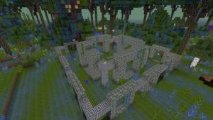後顧の憂いを絶ちつつ、高地の下のトロールの洞窟へ(第76話):Minecraft_挿絵4