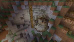 後顧の憂いを絶ちつつ、高地の下のトロールの洞窟へ(第76話):Minecraft_挿絵17