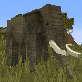 象は大きいぞう!イルカは居るか?(第85話):Minecraft_挿絵1