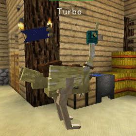 飛べないダチョウはただのダチョウです!(第82話):Minecraft_挿絵15