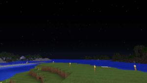 年の終わりを花火で祝ってみる(第84話):Minecraft_挿絵32