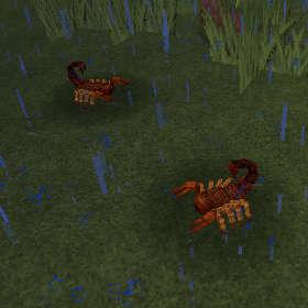 サソリって砂漠に生息する生き物なんじゃないの?(第83話):Minecraft_挿絵3