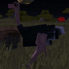 飛べないダチョウはただのダチョウです!(第82話):Minecraft_挿絵1