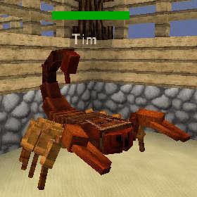 サソリって砂漠に生息する生き物なんじゃないの?(第83話):Minecraft_挿絵6