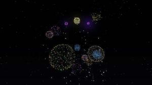 年の終わりを花火で祝ってみる(第84話):Minecraft_挿絵34