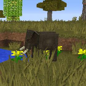 象は大きいぞう!イルカは居るか?(第85話):Minecraft_挿絵2